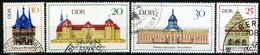 DDR - Michel 1379 / 1382 - OO Gestempelt (A) - Bedeutende Bauwerke II