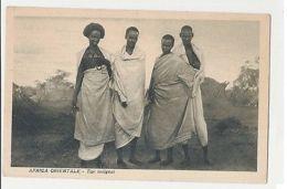 AFRICA - NATIVE TYPES - SHIP I. MESSINA ( GENOVA ) ITALY / LIBYA - 1930s (1106) - Cartes Postales