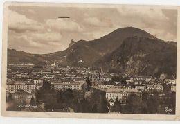 AUSTRIA - SALZBURG - VIEW - AIRSHIP  - RPPC 1920s ( 1147 ) - Cartes Postales