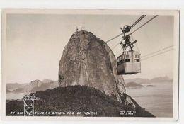 BRAZIL - RIO DE JANEIRO - PAO DE ACUCAR - FOTO COLOMBO - 1960s ( 1137 ) - Cartes Postales