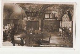 AUSTRIA - SALZBURG STIFTSKELLER ST PETER RICHARDSTUBL - RPPC 1940s ( 1142 ) - Cartes Postales