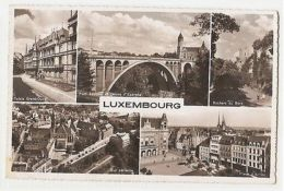 LUXEMBOURG - 5 SIGHTS - EDIT PAUL KRAUS - 1950s  ( 1120 ) - Cartes Postales