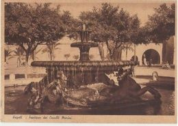 LIBYA - TRIPOLI - FONTANA DEI CAVALLI MARINI - EDIT MEGHIDESC - 1930s ( 1109 ) - Cartes Postales