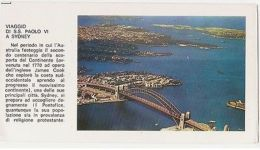 SYDNEY - POSTCARD FOR THE VISIT OF S.S. PAUL VI - AERIAL VIEW  ( 1133 ) - Cartes Postales