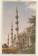 TURKEY - ISTANBUL - THE SULTANAHMET MOSQUE - EDIT D. KARDES - OVT STAMPS  (1134) - Cartes Postales