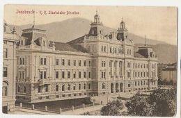 AUSTRIA - INNSBRUCK - K.K. STAATSBAHN-DIRECTION- EDIT STENGEL & C. 1908 ( 1136 ) - Cartes Postales
