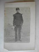CARTE PHOTO - Militaire Posant En Tenue (149è Sur Le Col) - Uniforms