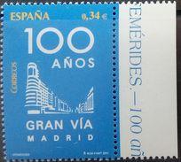 Spain, 2010, Gran Via Madrid, MNH