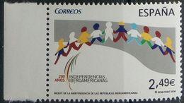Spain, 2010, Iberamerican Independence, MNH