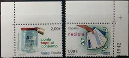 Spain, 2010, Recycling, MNH