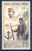 #B1103. French Equatorial Africa 1957. Michel 304. MNH(**) - A.E.F. (1936-1958)