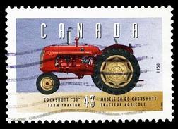 Canada (Scott No.1552a - Véhicule Historique / Historic Véhicule) (o)