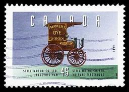 Canada (Scott No.1604a - Véhicule Historique / Historic Véhicule) (o)
