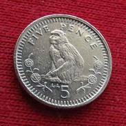 Gibraltar 5 Pence 1994 KM# 22a  Gibilterra