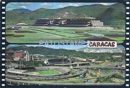 67187 VENEZUELA CARACAS HIPODROMO LA RINCONADA MULTI VIEW POSTAL POSTCARD