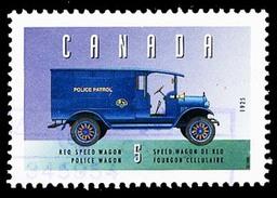Canada (Scott No.1605d - Véhicule Historique / Historic Véhicule) (o)