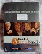 Dvd Zone 2 Inside The Actor's Studio Paul Newman + Robert Redford + Barbra Streisand + Clint Eastwood  Vostfr - Documentales