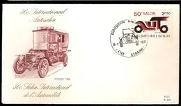 Belgium & FDC 50th Anniversary Of The International Automobile Exhibition, Seraing 1971 (1568)