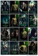 16 Postcards Of  Arrow  Superhero  Archer Tv Film Poster,  Postkarte Carte Postale - Séries TV