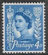 Jersey SG11 1966 Definitive 4d Mounted Mint [23/21111/25D]