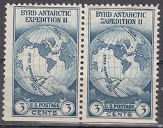UNITED STATES   SCOTT NO.  733   MNH    YEAR  1933      PAIR