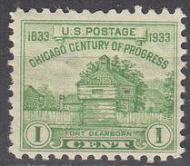 UNITED STATES   SCOTT NO.  728     MNH    YEAR  1933 - Unused Stamps