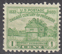 UNITED STATES   SCOTT NO.  728     MNH    YEAR  1933