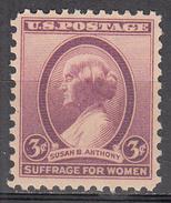 UNITED STATES   SCOTT NO.  784     MNH    YEAR  1936