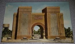 BAGHDAD, GATE OF BAGHDAD, IRAQ- ORIGINAL OLD ISTCARD - Irak