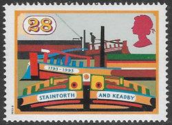 GB SG1776 1993 Inland Waterways 28p Unmounted Mint [33/28545/25D]