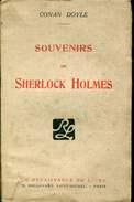 Doyle Souvenirs De Sherlock Holmes Renaissance Du Livre - Livres, BD, Revues