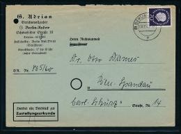 Berlin Zustellurkunde  - Beleg    ( Ze4122   ) Siehe Foto