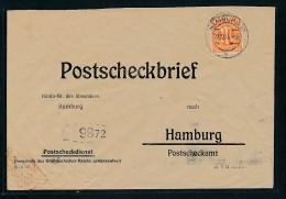 Zonen Postscheck   - Beleg    ( Ze4123   ) Siehe Foto