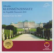 Coin Austria Coinage 2010 - 0.01 - 2  Euro UNC - Belvedere Palace - Oostenrijk