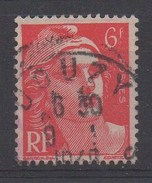 France,Yvert N° 721Aa - Meches Reliées  - Oblitére - Cote 11 €
