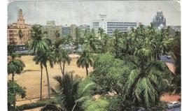 OVAL MIDAN - BOMBAY - INDIA - VIAGGIATA 1965 - (319) - India