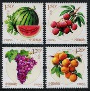 China 2016-18 Fruits MNH**