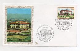 Italia - 1986 -  Busta FDC - Villa Medicea - Poggio A Caiano (Firenze) - Con Doppio Annullo -  (FDC3581) - FDC
