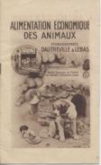 """75  - PARIS  - Alimentation Des Animaux  -  """" DAUTREVILLE Et LEBAS """" - 1914 - 6 Scans - Alimentaire"""