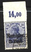 Militärverwaltung In Rumänien,11a,OR Platte,o,gep. - Besetzungen 1914-18