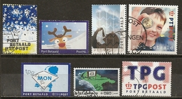 Pays-Bas Netherlands Collection Port Paye Obl