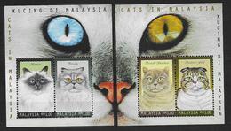 Malaysia 1999 Blocs 25 Et 26 Neufs Avec Chats