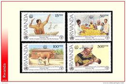 Rwanda 1392/95** Nutrition  MNH