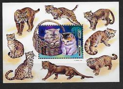 Mongolie 1998 Bloc 250 Neuf Avec Chats