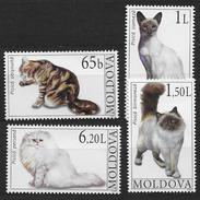 Moldavie 2007 N° 510/513 Neufs Avec Chats