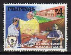 Philippines 1997 The 200th Anniversary Of Holy Rosary Seminary, Naga City.Christianity.MNH - Philippines