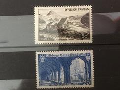 FRANCE YT 842.843. Neuf**. 1949. Côte 3.50 €