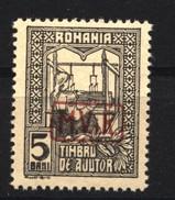 Militärverwaltung In Rumänien,Zwangszuschlagsmarken,Nr.5,xx - Besetzungen 1914-18
