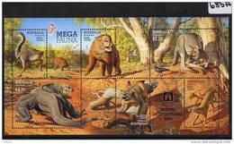 Australia 2008 Mega Fauna Overprint Bejing M/S MUH   685A