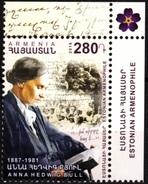 ARMENIA 2016-22 Famous People: Bull, Missionary. Genocide. War. Emblem-CORNER, MNH